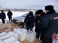 В Ульяновской области правоохранители пресекли канал поставки контрафактного алкоголя